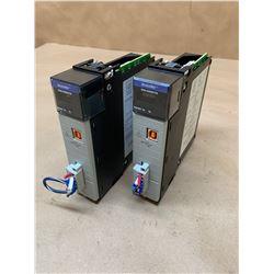 (2) Allen-Bradley 1756-DNB D Devicenet Communication Modules