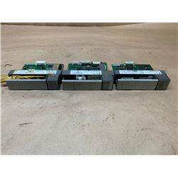 (3) Allen-Bradley SLC 500 Modules *See Pics for Part Numbers*