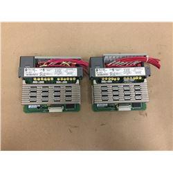 (2) Allen Bradley 1746-0AP12 Output Module