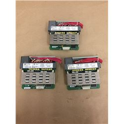 (3) Allen Bradley 1746-0AP12 Output Module