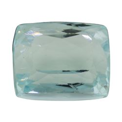 8.91 ct. Natural Cushion Cut Aquamarine