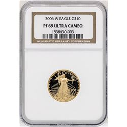 2006-W $10 Gold Eagle Gold Coin NGC PF69