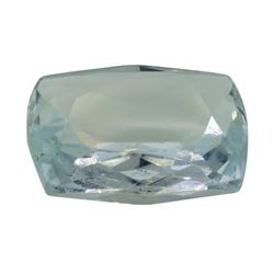 4.36 ct. Natural Cushion Cut Aquamarine