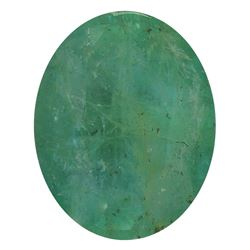 3.26 ctw Oval Emerald Parcel