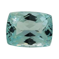 6.67 ct. Natural Cushion Cut Aquamarine
