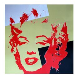 Golden Marilyn 11.44 by Warhol, Andy