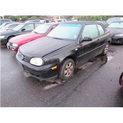 2001 Volkswagen Cabriolet