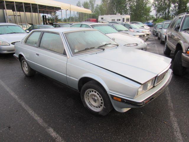 1984 Maserati Biturbo - Speeds Auto Auctions