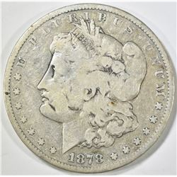1878-CC MORGAN DOLLAR VG