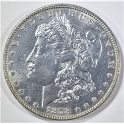 1878 7 TF MORGAN DOLLAR  CH BU