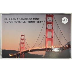 2018 SAN FRANCISCO SILVER REV PROOF SET