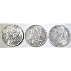 3-1882-O MORGAN DOLLARS AU/BU
