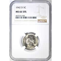 1942-D JEFFERSON NICKEL