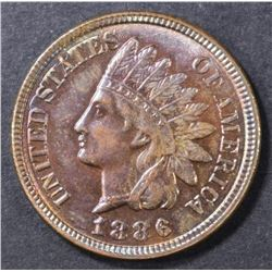 1886 TYPE 2 INDIAN CENT  CH BU RB