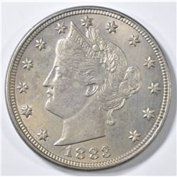 1883 WITH CENTS LIBERTY NICKEL  BU