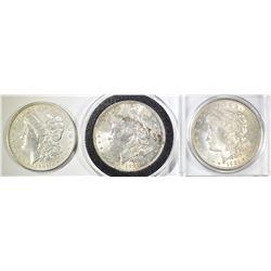 2 1921 BU & 1884-O AU/BU MORGAN DOLLARS