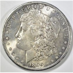 1890-S MORGAN DOLLAR CH/GEM BU