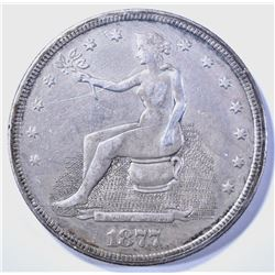 1877-S POTTIE DOLLAR XF