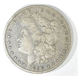 1896-S MORGAN DOLLAR, XF