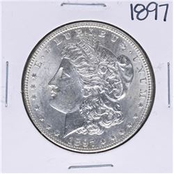 1897 $1 Morgan Silver Dollar Coin