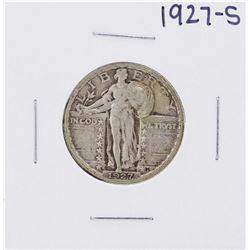 1927-S Standing Liberty Quarter Coin