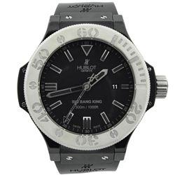 Hublot Mens Big Bang King Ceramic & Titanium 48mm Black Dial Watch