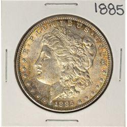 1885 $1 Morgan Silver Dollar Coin Nice Toning
