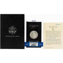 1891-CC $1 Morgan Silver Dollar Coin GSA Hoard NGC MS62 Top-100 VAM-3 w/Box & CO