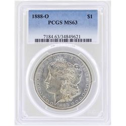 1888-O $1 Morgan Silver Dollar Coin PCGS MS63
