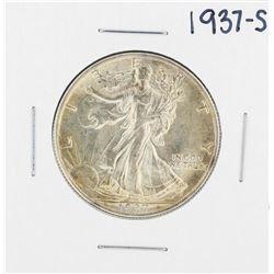 1937-S Walking Liberty Half Dollar Coin