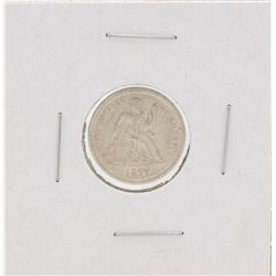1877-CC Seated Liberty Silver Dime
