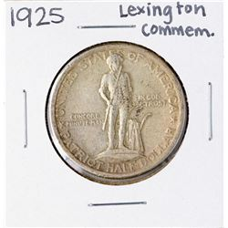 1925 Lexington-Concord Commemorative Half Dollar Coin