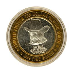 .999 Fine Silver Sam Boyd's California Casino $10 Limited Edition Gaming Token