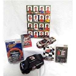 NASCAR/ DALE EARNHARDT LOT- 6 ITEMS-