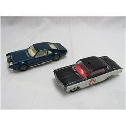 2 VINTAGE CORGI TOYS CARS.