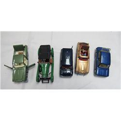 VINTAGE CORGI TOYS CARS. 5 CARS TOTAL