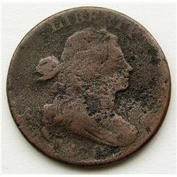DRAPED BUST LARGE CENT AG
