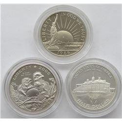 1986 STATUE of LIBERTY HALF DOLLAR PROOF,