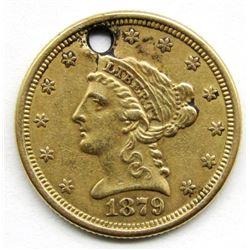 1879 $2.50 LIBERTY GOLD COIN