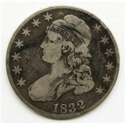 1832 CAPPED BUST HALF DOLLAR