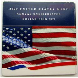 2007 U.S. DOLLAR SET ORIGINAL UNC PACKAGE