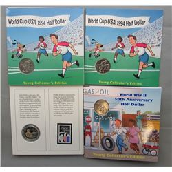 4- US COLLECTOR SETS- 1993 BILL OF RIGHTS COIN &
