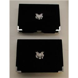 1992 & 1998 PREMIER SILVER SET BOX/COA