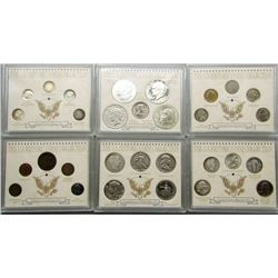 150 YEARS OF AMERICAN COINS SET