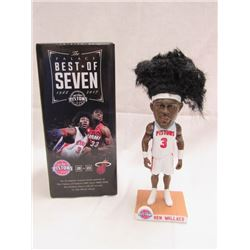 2017 BEN WALLACE NBA AFRO BOBBIN HEAD