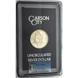1884-CC GSA MORGAN $ PCGS MS 62