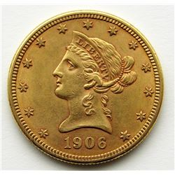 1906-D Ten Dollar $10 Liberty Eagle