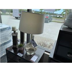 MILANO ANTIQUE GLASS TABLE LAMP