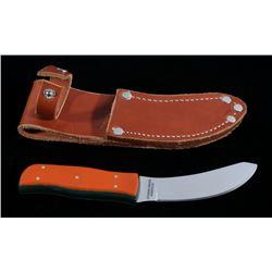 Custom Gerome Weinand Skinner Knife w/ Sheath