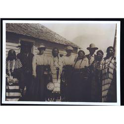 Lakota Sioux Indian Original Photograph c. 1880-